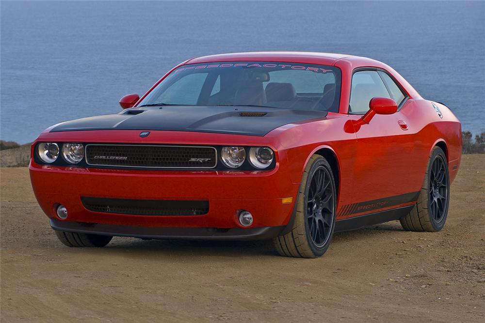 2009 dodge challenger srt8 custom coupe 97889. Black Bedroom Furniture Sets. Home Design Ideas
