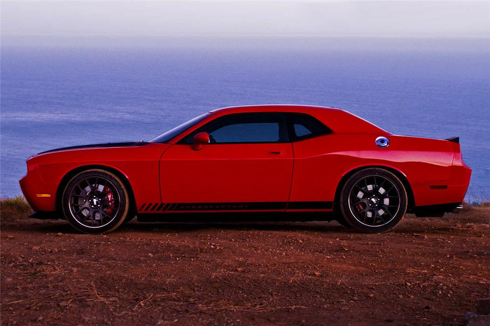 2009 DODGE CHALLENGER SRT8 CUSTOM COUPE - Side Profile - 97889
