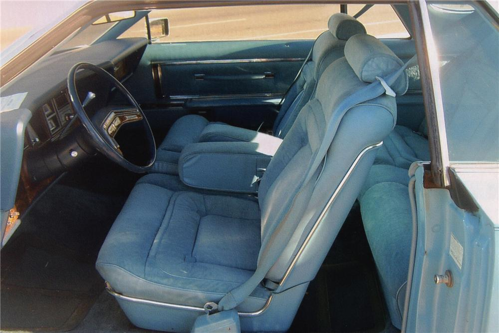 1978 LINCOLN CONTINENTAL MARK V 2 DOOR - Interior - 97891
