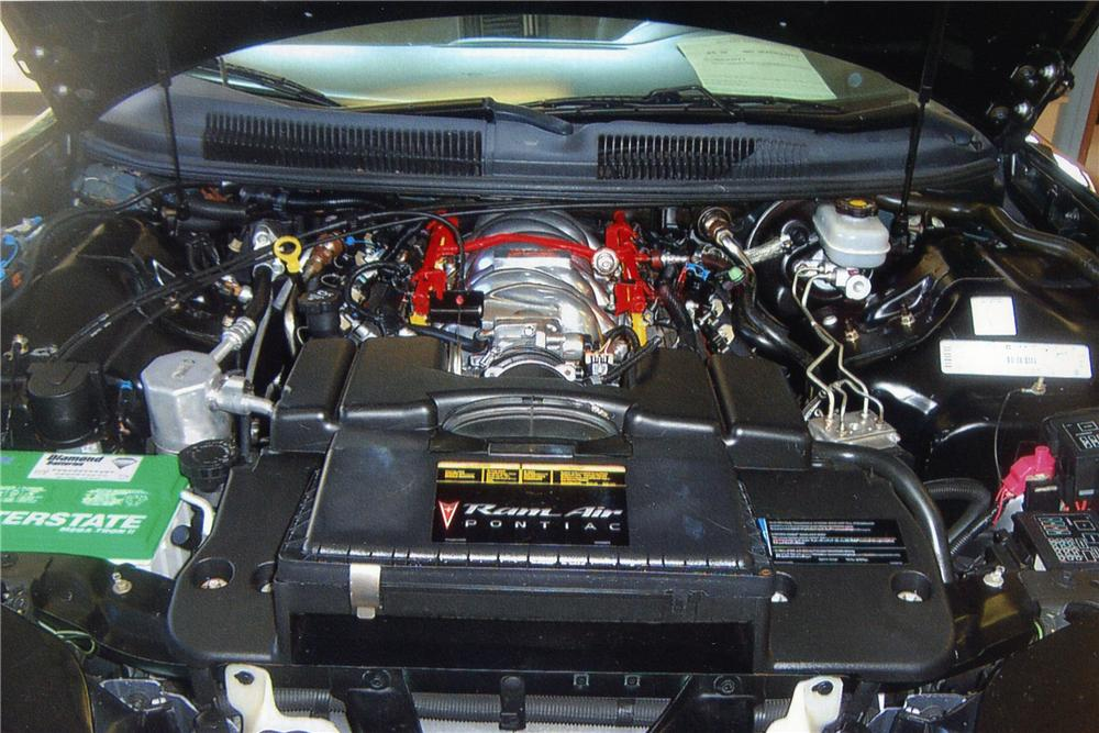 2002 PONTIAC FIREBIRD TRANS AM WS-6 CONVERTIBLE - Engine - 97893
