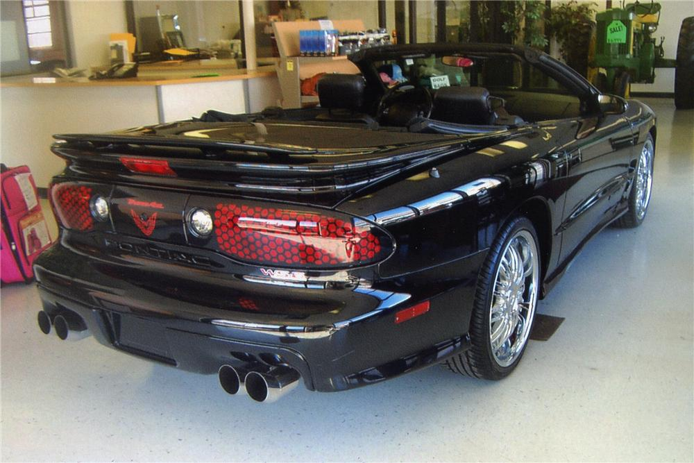 2002 PONTIAC FIREBIRD TRANS AM WS-6 CONVERTIBLE - Rear 3/4 - 97893