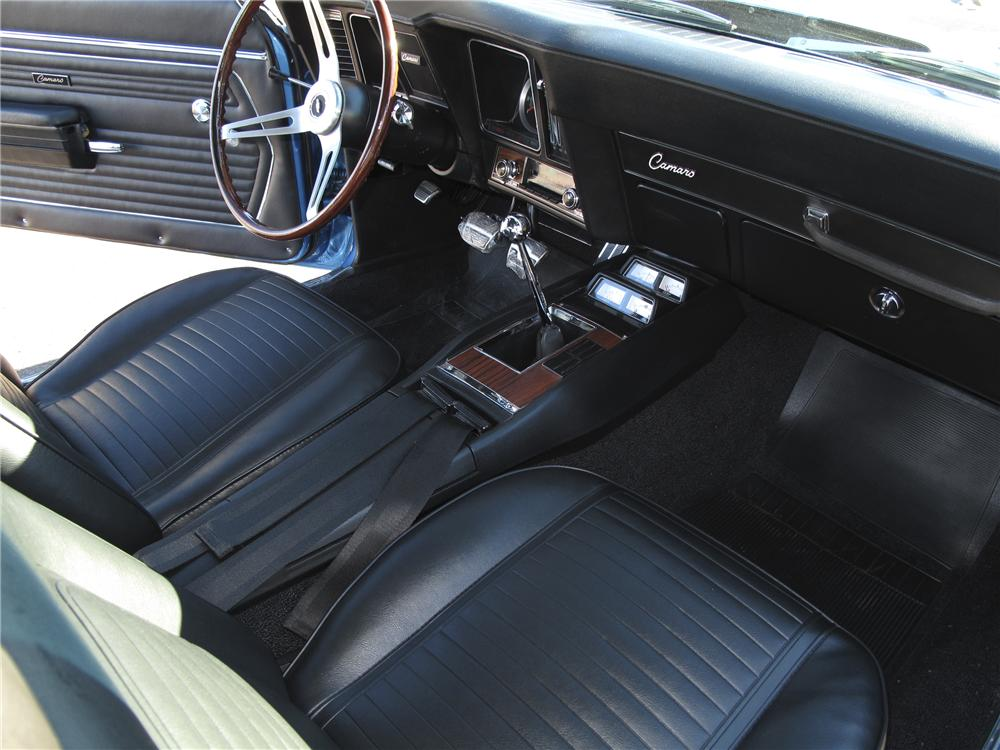 1969 CHEVROLET CAMARO Z/28 COUPE - Interior - 97898