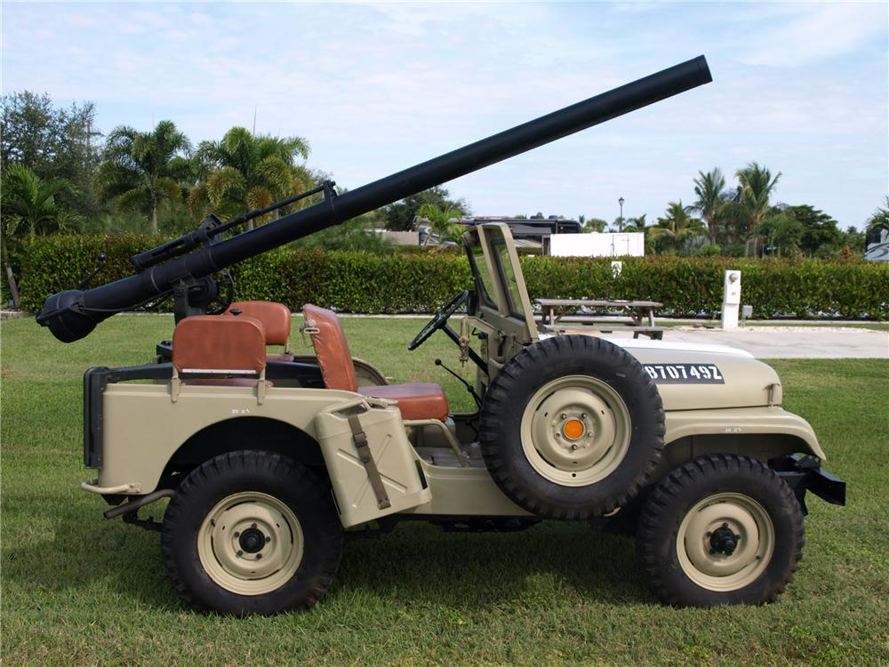 1965 JEEP CJ-5 CONVERTIBLE - Side Profile - 97956