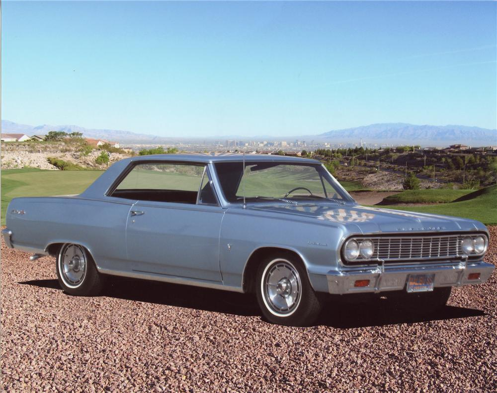 1964 CHEVROLET CHEVELLE MALIBU SS SPORT COUPE - Front 3/4 - 98007