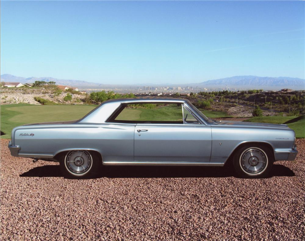 1964 CHEVROLET CHEVELLE MALIBU SS SPORT COUPE - Side Profile - 98007