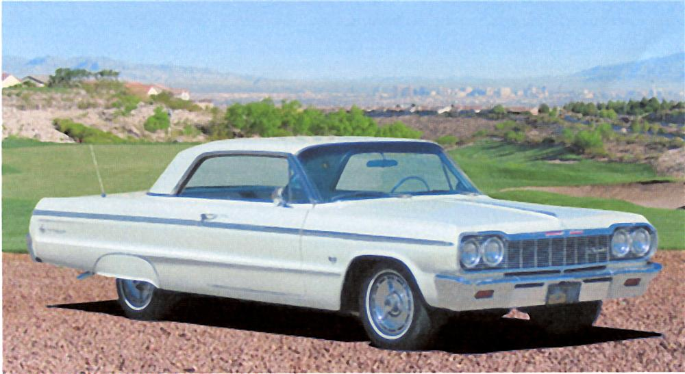 1964 CHEVROLET IMPALA SPORT COUPE - Front 3/4 - 98010