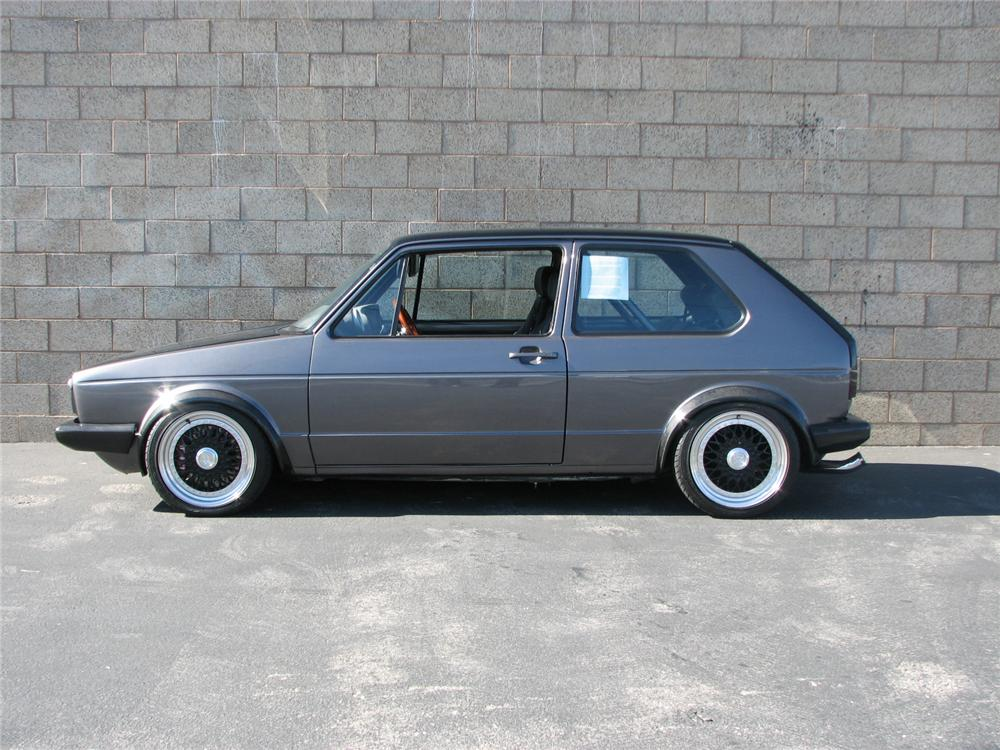 1978 VOLKSWAGEN RABBIT COUPE - Side Profile - 98013