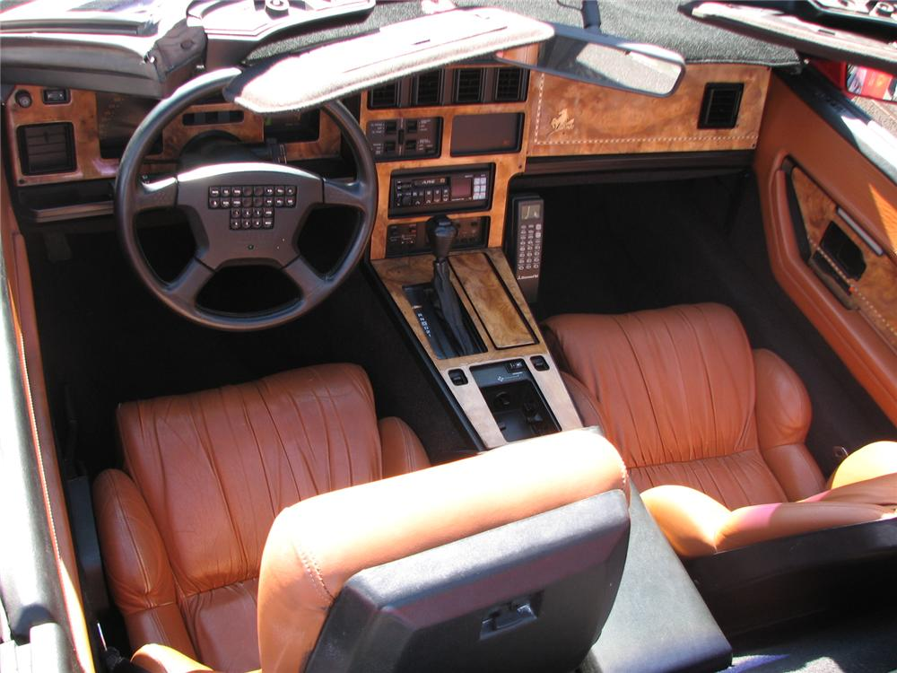 1989 CHEVROLET CORVETTE BRILLANTE CUSTOM CONVERTIBLE - Interior - 98014