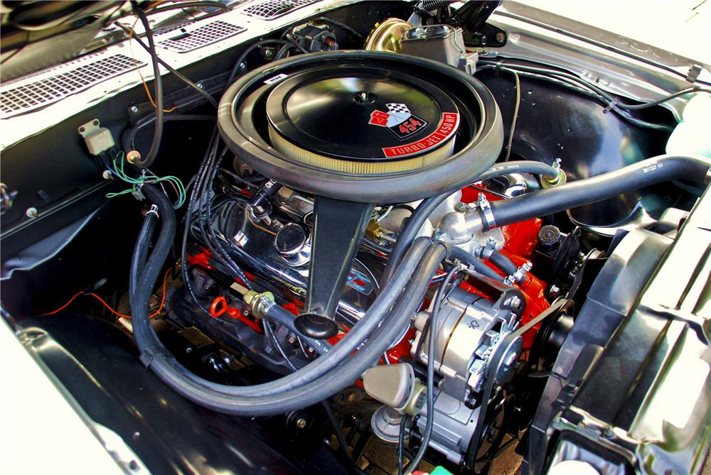 1970 CHEVROLET CHEVELLE LS6 SS COUPE - Engine - 98019