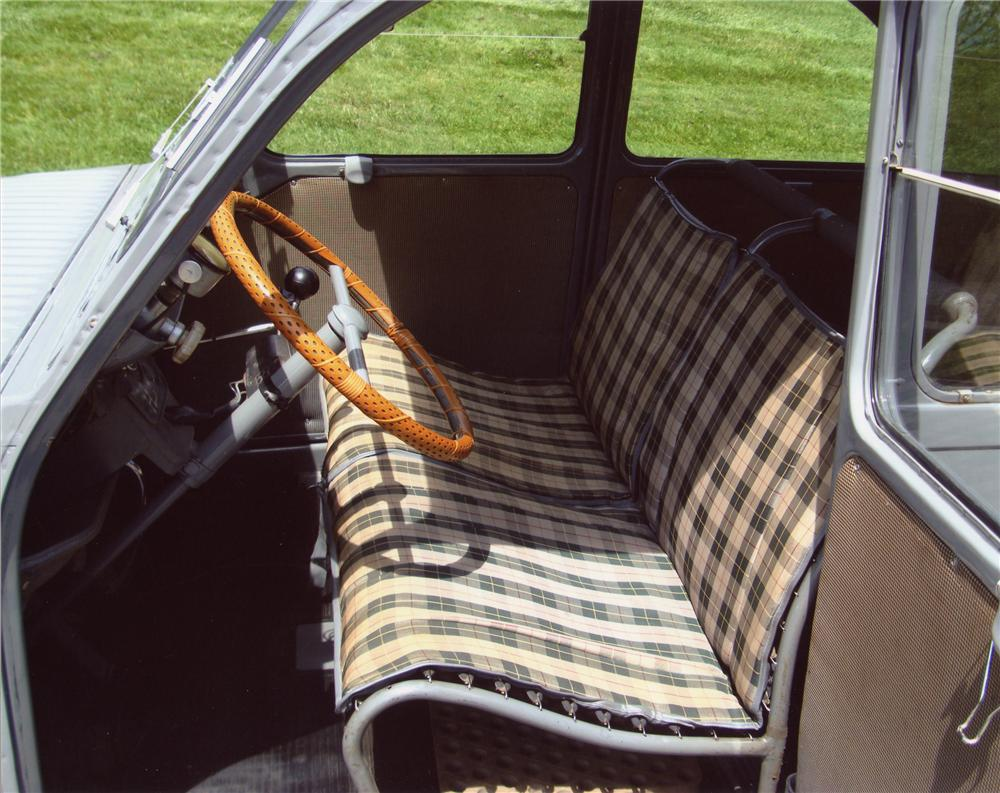 1956 CITROEN 2CV 4 DOOR - Interior - 98051