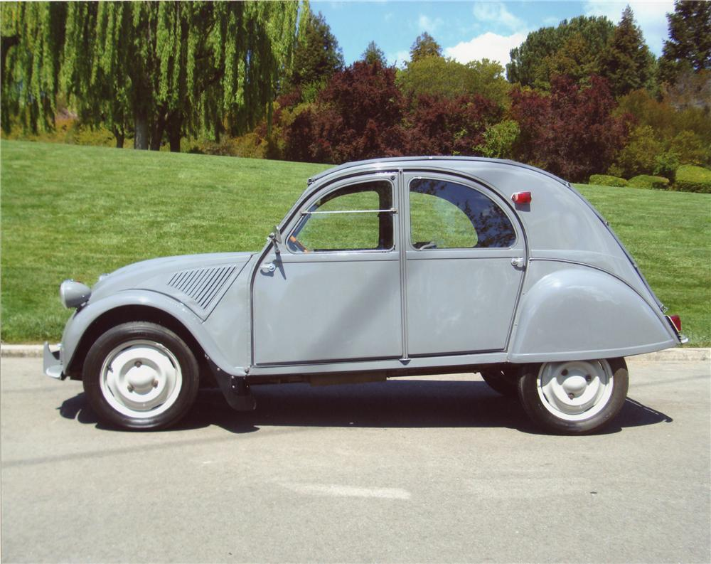 2 Door Cars 2018 >> 1956 CITROEN 2CV 4 DOOR - 98051