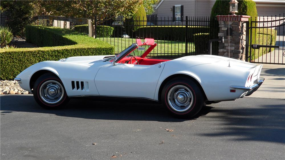 1968 CHEVROLET CORVETTE CONVERTIBLE - Misc 1 - 98056