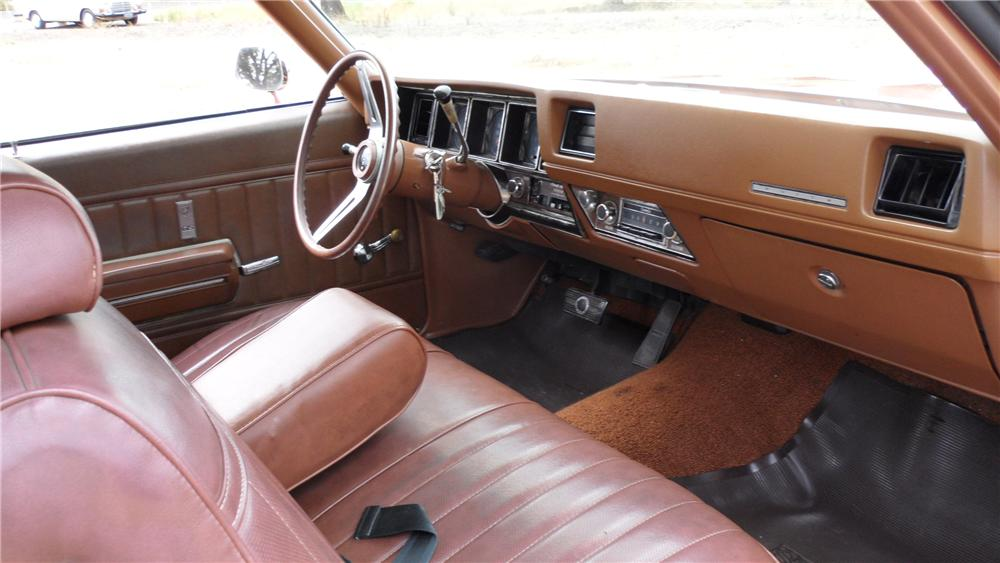 1971 BUICK STAGE ONE GS 2 DOOR COUPE - Interior - 98057