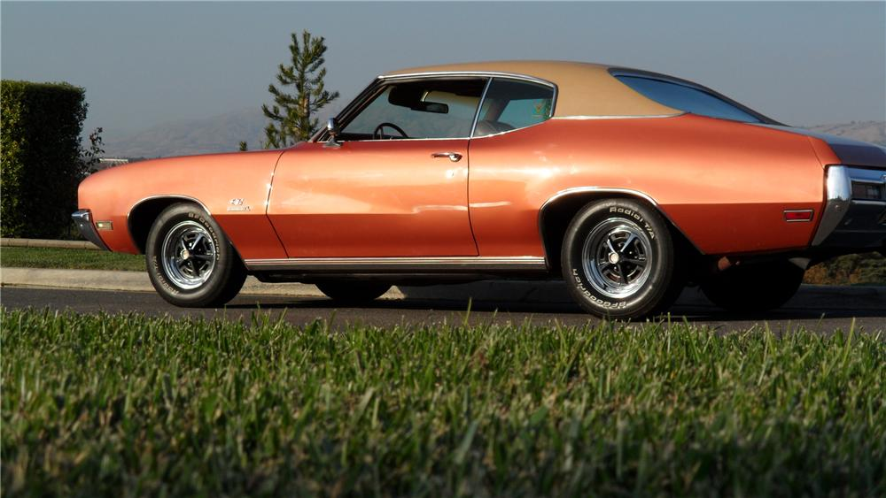 1971 BUICK STAGE ONE GS 2 DOOR COUPE - Rear 3/4 - 98057