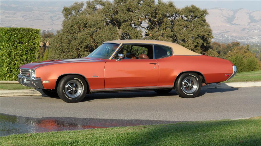 1971 BUICK STAGE ONE GS 2 DOOR COUPE - Side Profile - 98057