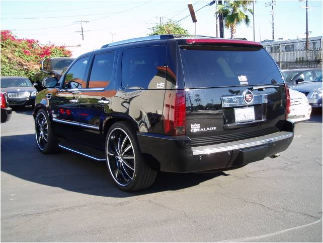 2007 CADILLAC ESCALADE AWD DUB EDITION - Rear 3/4 - 98068