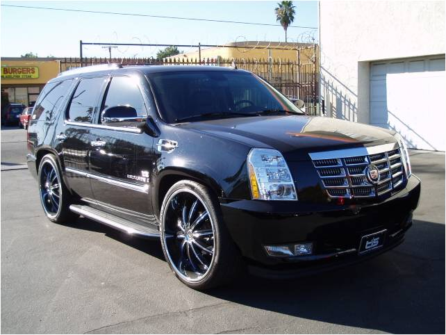 2007 CADILLAC ESCALADE AWD DUB EDITION - Side Profile - 98068