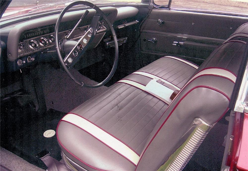 1961 CHEVROLET IMPALA SS CONVERTIBLE - Interior - 98071