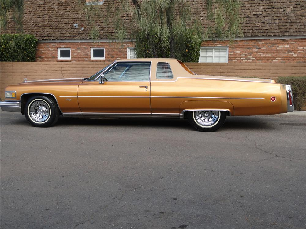 1976 CADILLAC MIRAGE PICKUP - Side Profile - 98073