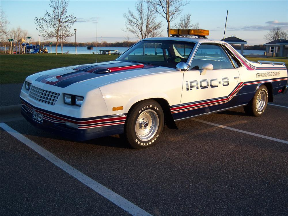 1985 CHEVROLET EL CAMINO SS PACE TRUCK - Front 3/4 - 98074