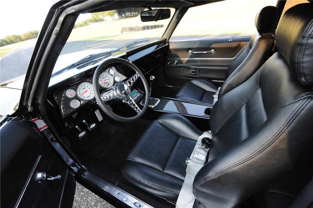 1969 CHEVROLET CAMARO CUSTOM COUPE - Interior - 98075