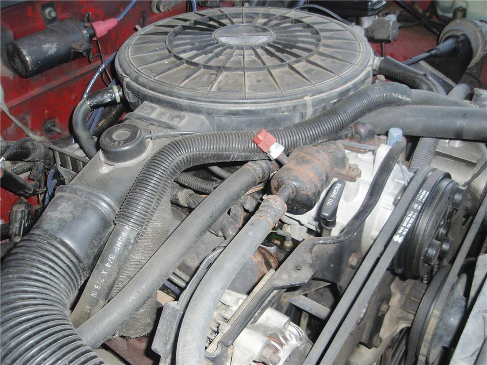 1989 DODGE DAKOTA CONVERTIBLE PICKUP - Engine - 98076