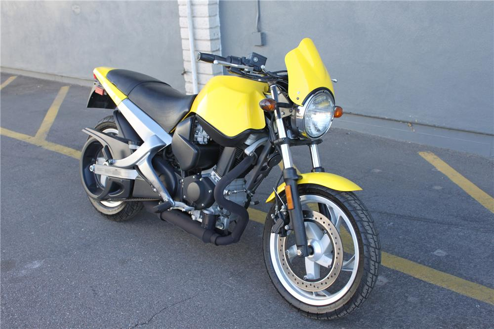 2001 BUELL BLAST MOTORCYCLE - Front 3/4 - 98079