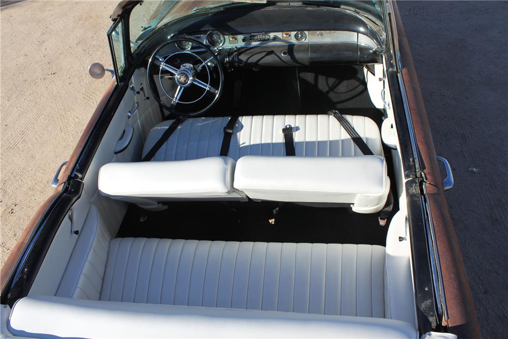 1954 BUICK SPECIAL CUSTOM TOPLESS ROADSTER - Interior - 98086