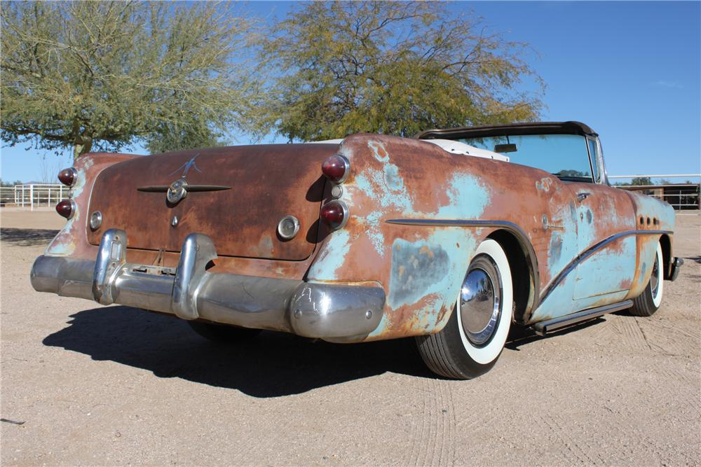 1954 BUICK SPECIAL CUSTOM TOPLESS ROADSTER - Rear 3/4 - 98086