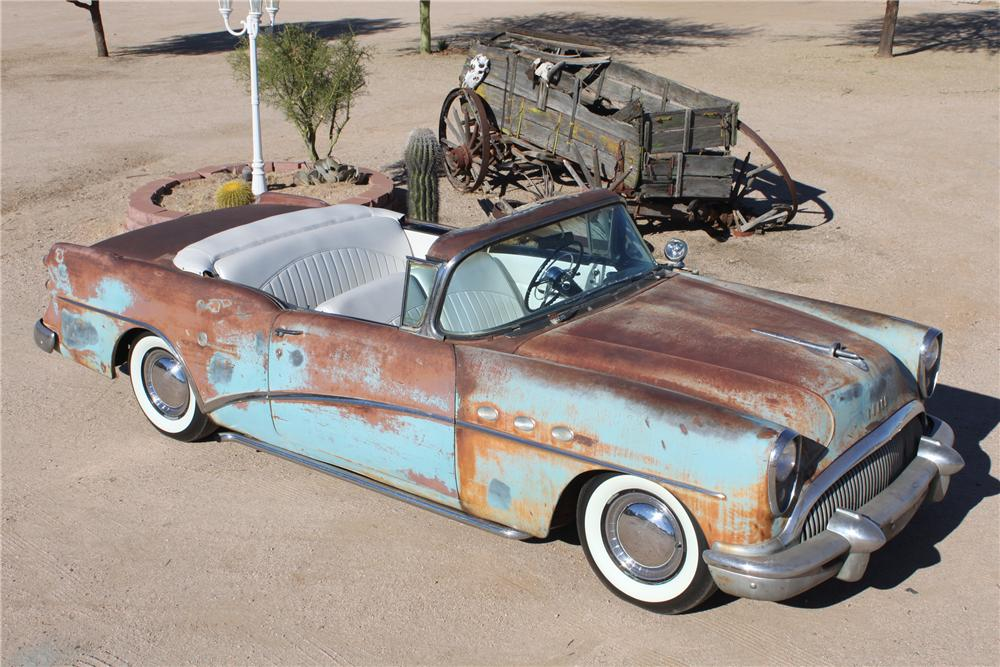 1954 BUICK SPECIAL CUSTOM TOPLESS ROADSTER - Side Profile - 98086