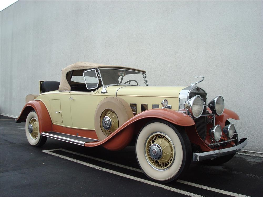 1931 CADILLAC 355 A ROADSTER - Front 3/4 - 98088