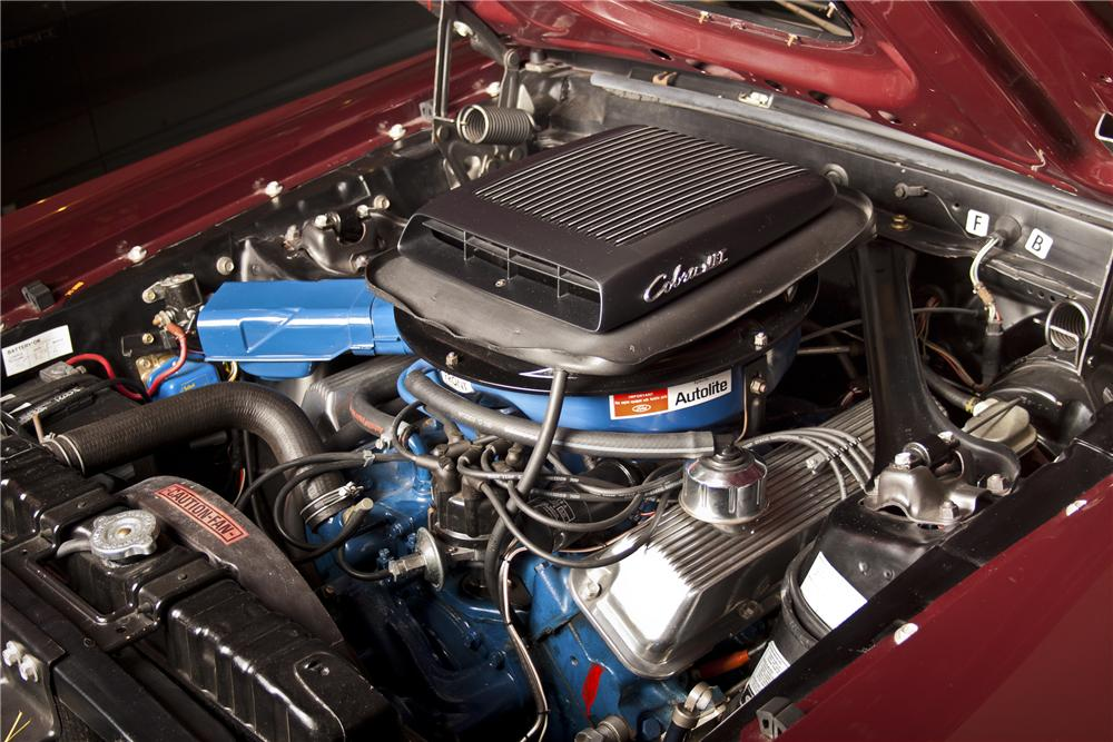 1969 FORD MUSTANG MACH 1 428 CJ FASTBACK - Engine - 98089