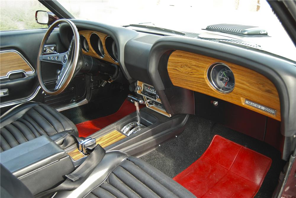 1969 FORD MUSTANG MACH 1 428 CJ FASTBACK - Interior - 98089