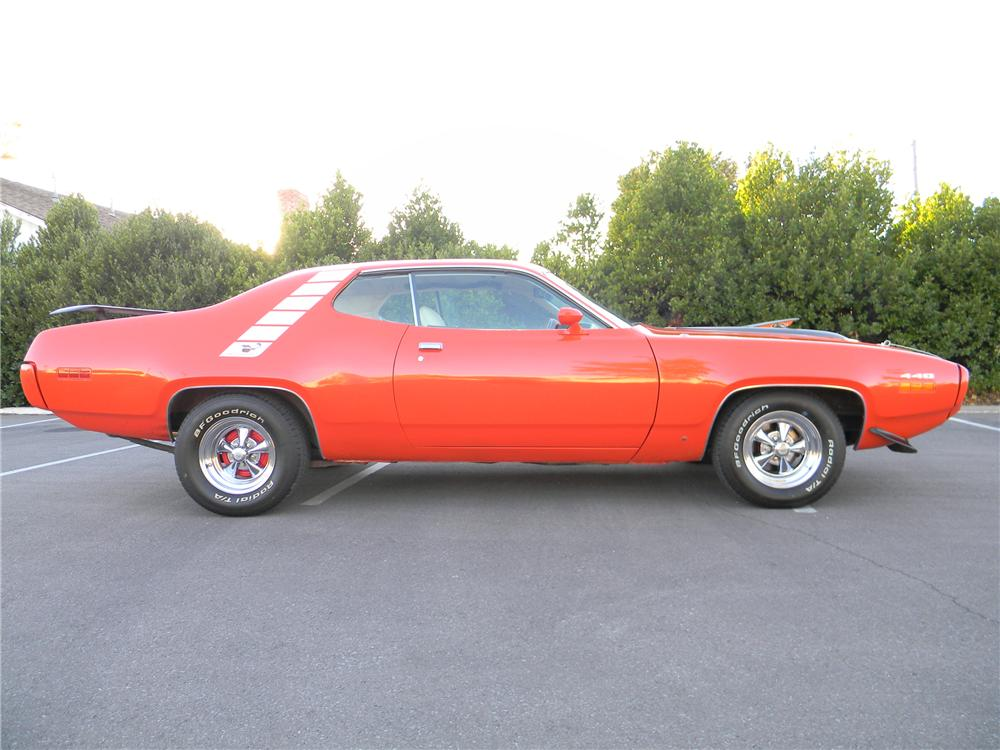 1971 PLYMOUTH ROAD RUNNER 2 DOOR HARDTOP - Side Profile - 98092
