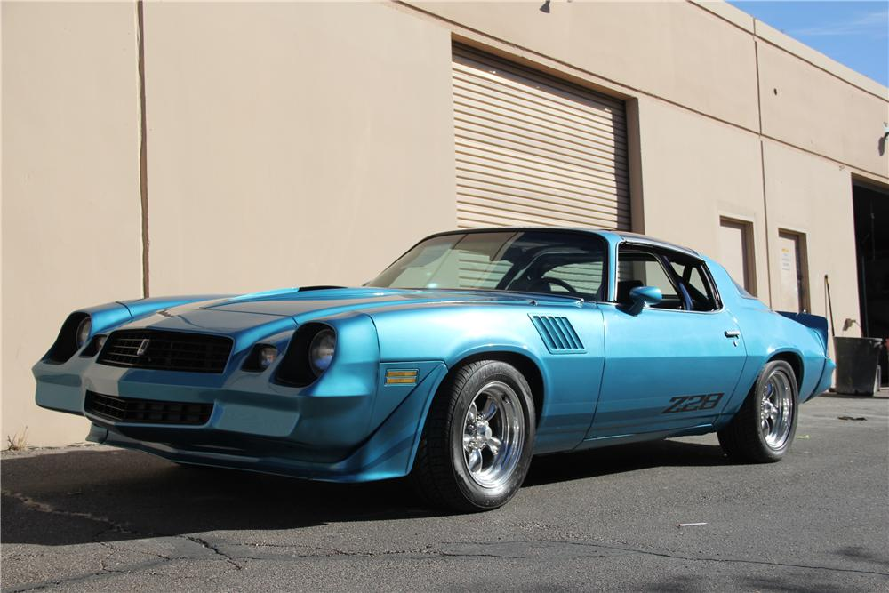 1979 CHEVROLET CAMARO Z/28 COUPE - Front 3/4 - 98095