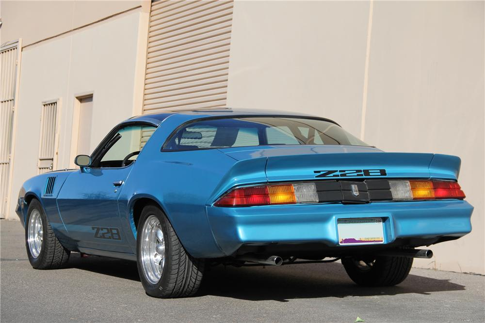 1979 CHEVROLET CAMARO Z/28 COUPE - Rear 3/4 - 98095