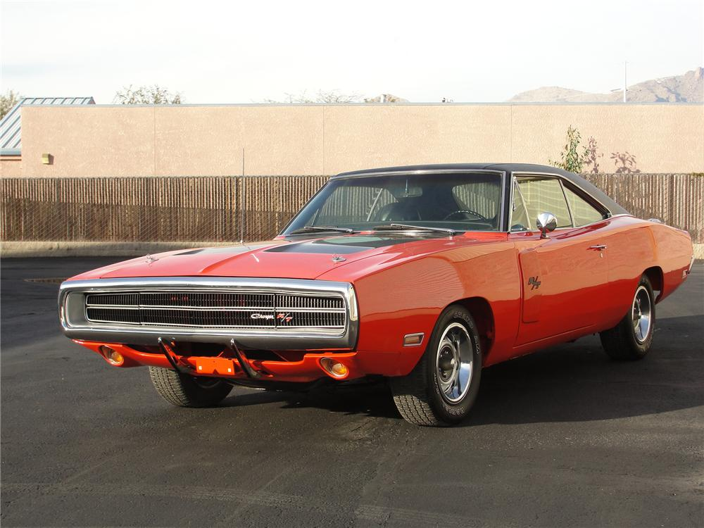 1970 DODGE CHARGER R/T 2 DOOR HARDTOP - Front 3/4 - 98105