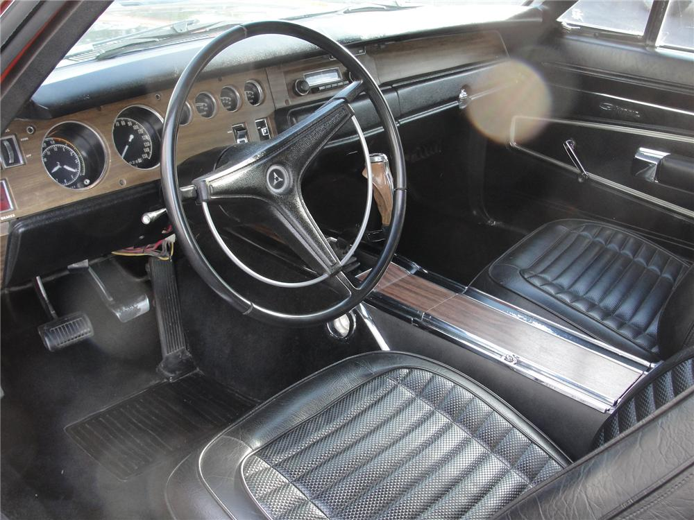 1970 DODGE CHARGER R/T 2 DOOR HARDTOP - Interior - 98105