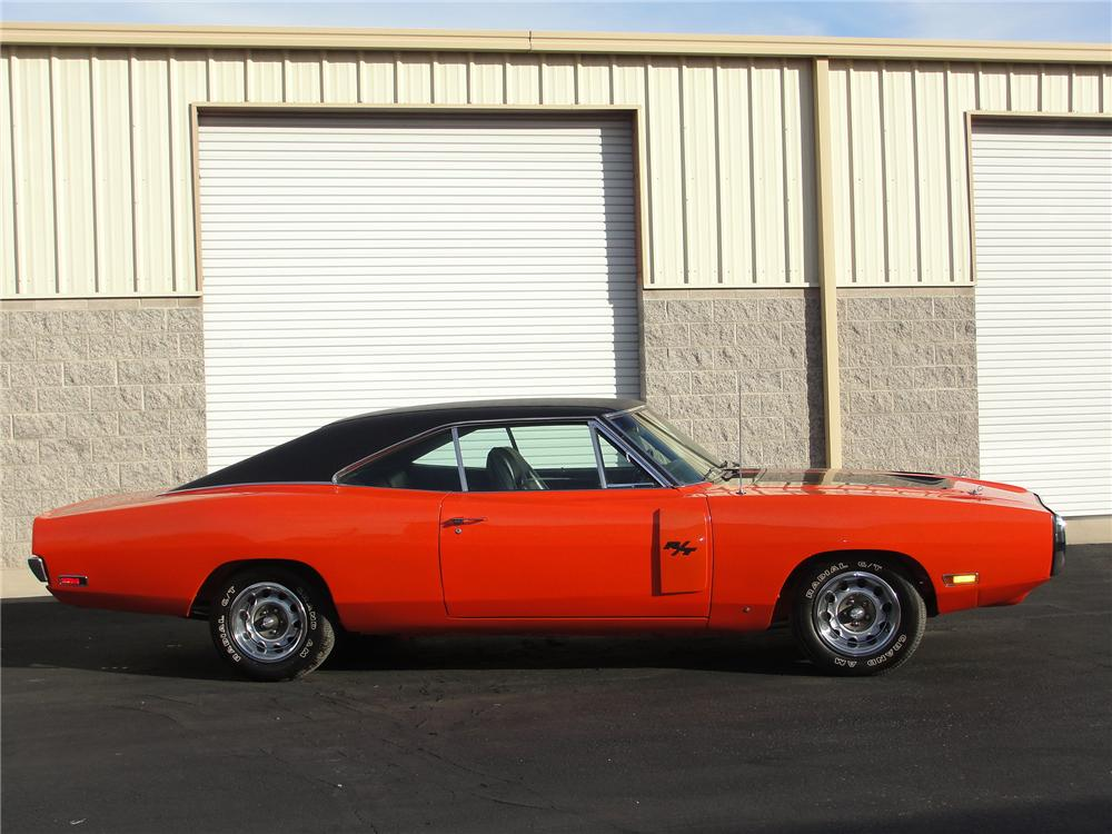 1970 DODGE CHARGER R/T 2 DOOR HARDTOP - Side Profile - 98105