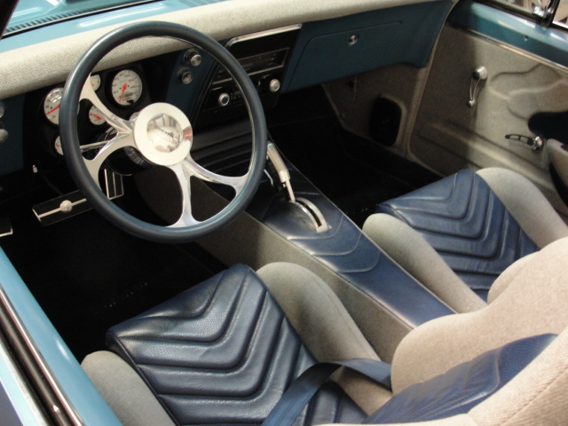 1967 CHEVROLET CAMARO RS CUSTOM CONVERTIBLE - Interior - 98107