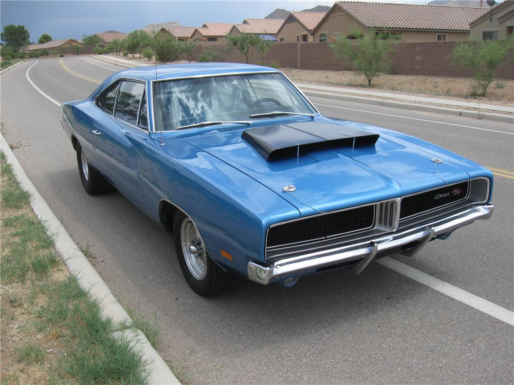 1969 DODGE CHARGER CUSTOM 2 DOOR HARDTOP - 98108