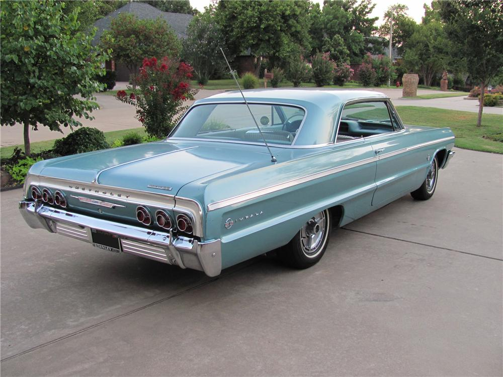 1964 CHEVROLET IMPALA SS 2 DOOR COUPE - Engine - 98111