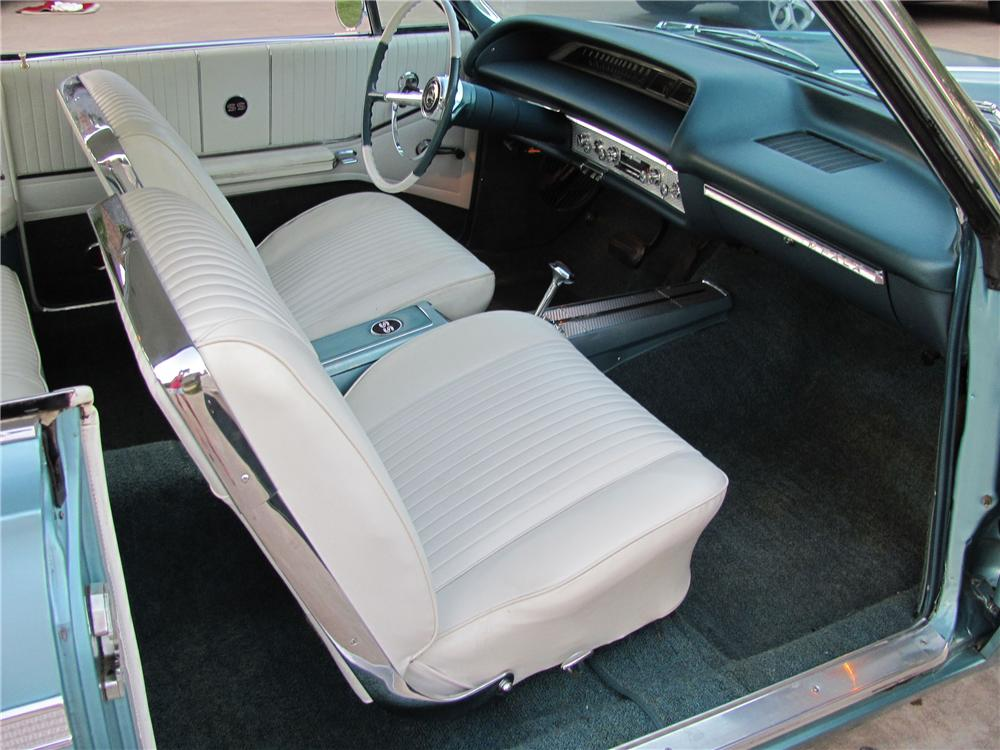 1964 CHEVROLET IMPALA SS 2 DOOR COUPE - Interior - 98111