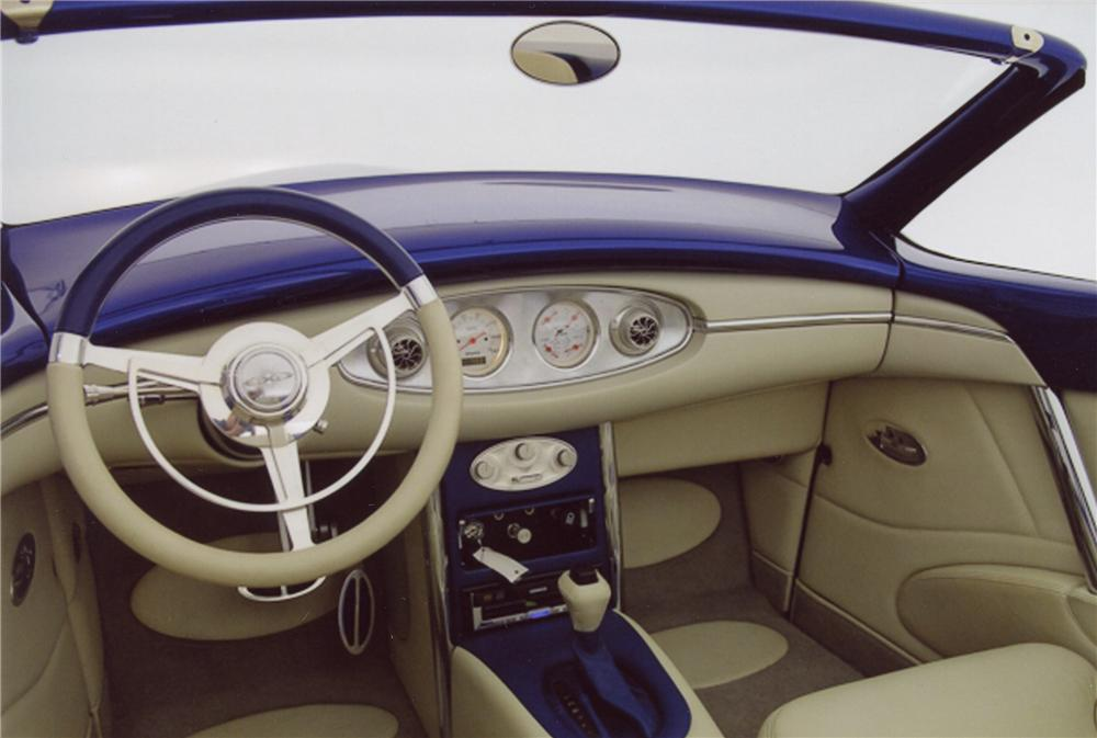 1937 FORD CUSTOM CONVERTIBLE - Interior - 98115