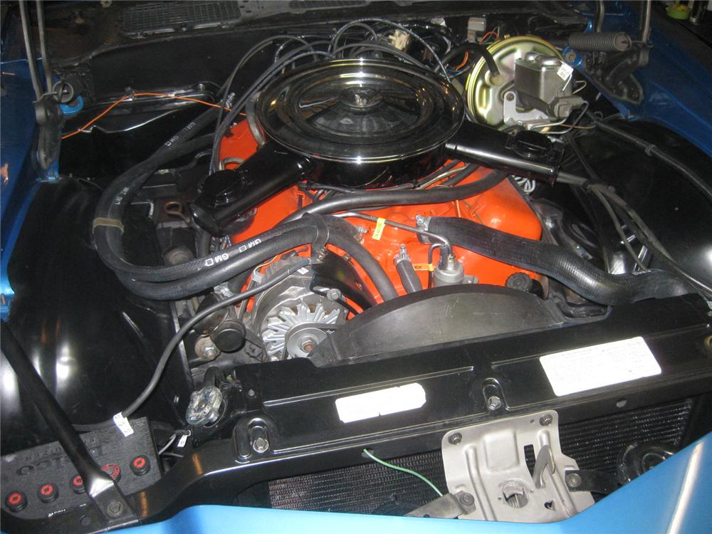 1972 CHEVROLET CAMARO COUPE - Engine - 98119