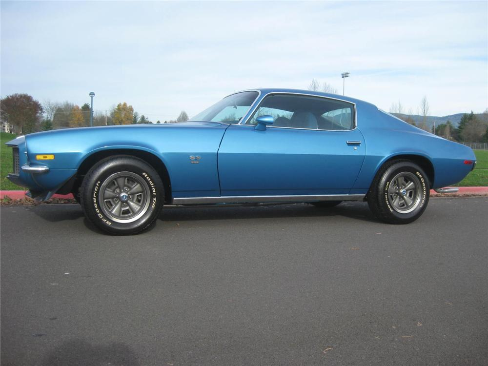 1972 CHEVROLET CAMARO COUPE - Side Profile - 98119