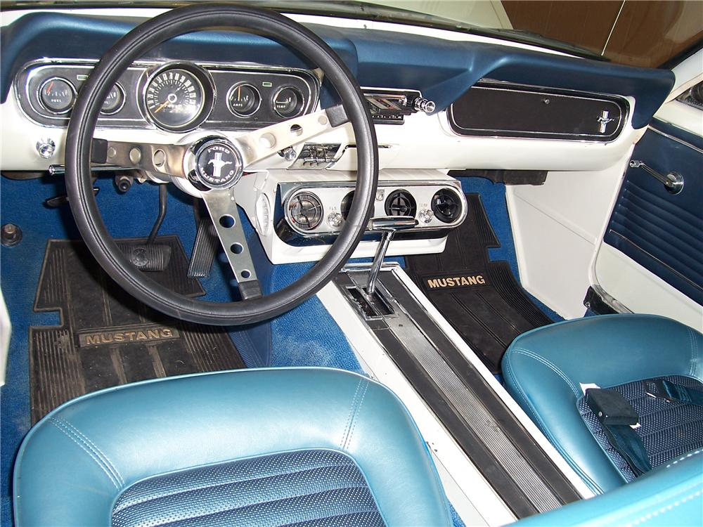 1966 FORD MUSTANG SPRINT 2 DOOR COUPE - Interior - 98122