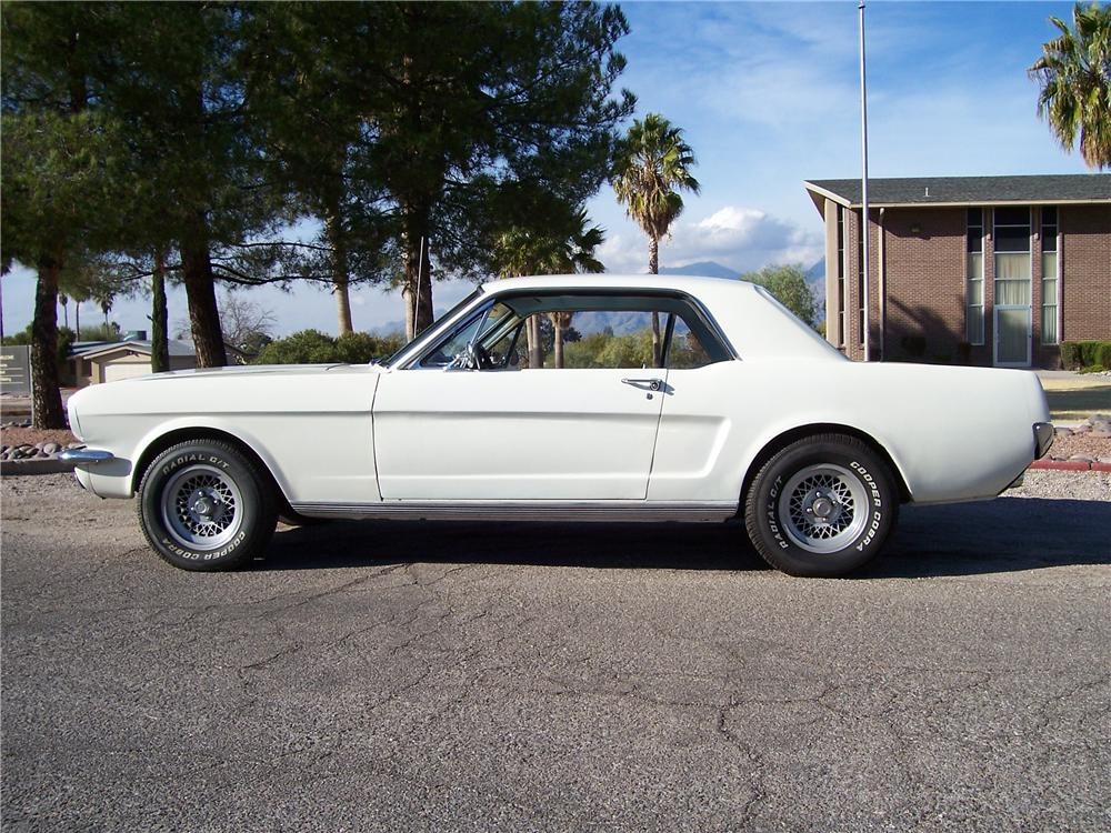 1966 FORD MUSTANG SPRINT 2 DOOR COUPE - Side Profile - 98122