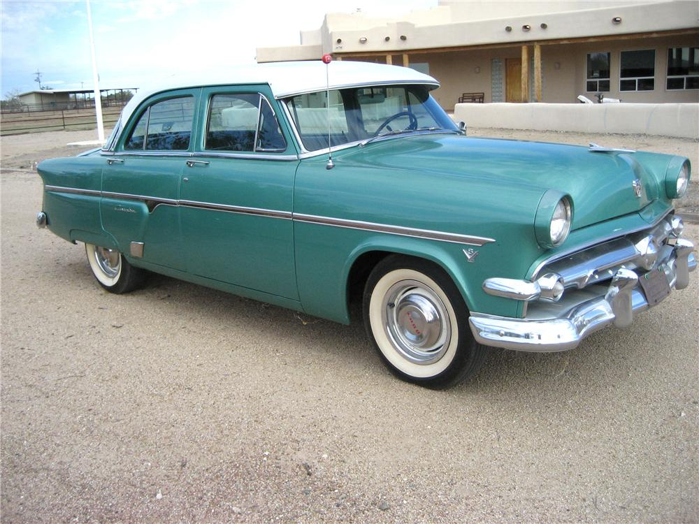 1954 ford custom line 4 door sedan 98123