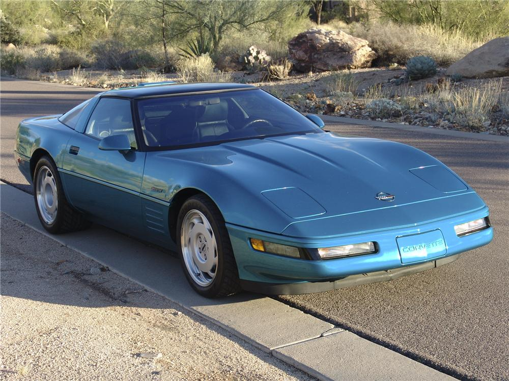 1992 CHEVROLET CORVETTE ZR1 COUPE - Front 3/4 - 98128